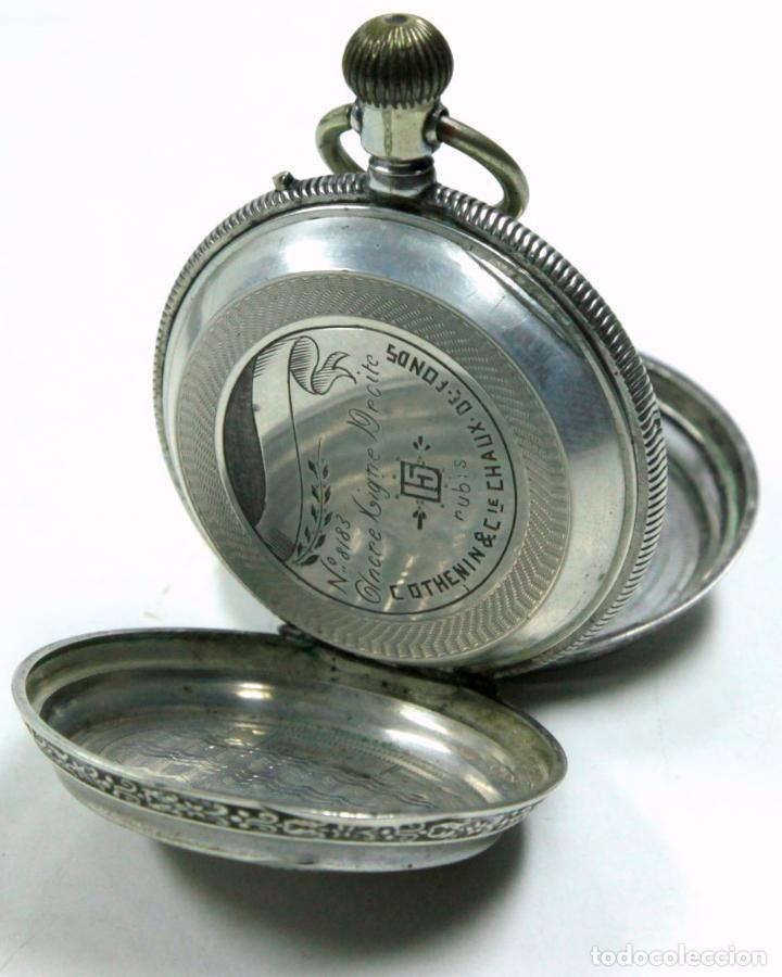 Relojes de bolsillo: RELOJ DE BOLSILLO SIN MARCA EN CAJA ULYSSE NARDIN, VER FOTOS ANEXAS - Foto 6 - 112546383