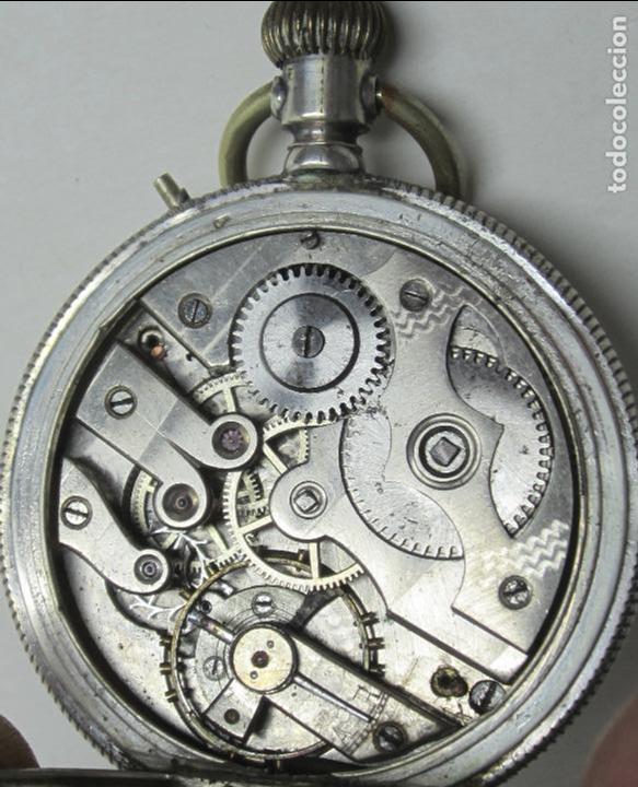 Relojes de bolsillo: RELOJ DE BOLSILLO SIN MARCA EN CAJA ULYSSE NARDIN, VER FOTOS ANEXAS - Foto 9 - 112546383