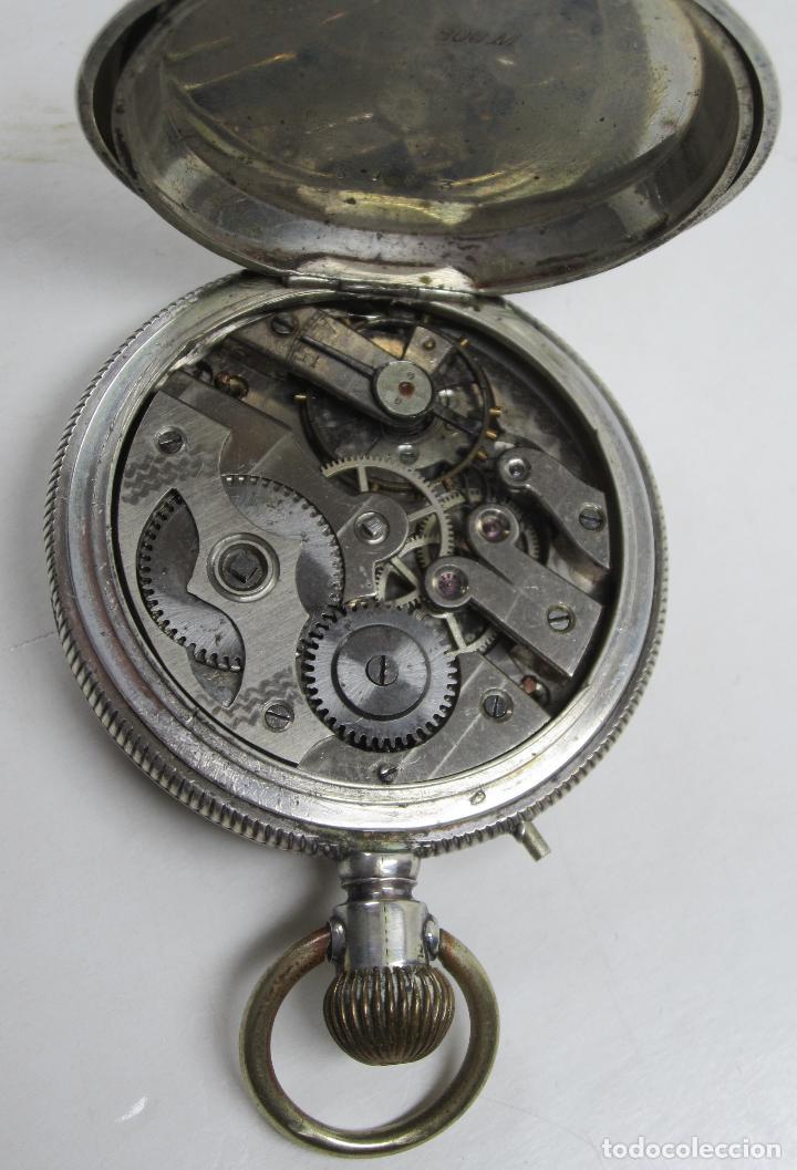 Relojes de bolsillo: RELOJ DE BOLSILLO SIN MARCA EN CAJA ULYSSE NARDIN, VER FOTOS ANEXAS - Foto 10 - 112546383