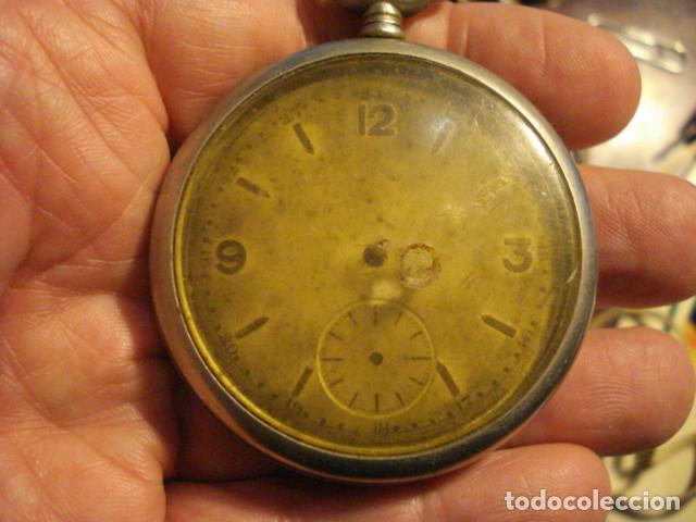RELOJ BOLSILLO SIN MARCA - NO FUNCIONA - PARA REPARAR O PIEZAS (Relojes - Bolsillo Carga Manual)