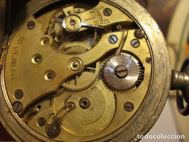 Relojes de bolsillo: RELOJ BOLSILLO SIN MARCA - NO FUNCIONA - PARA REPARAR O PIEZAS - Foto 2 - 112578147