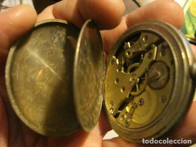Relojes de bolsillo: RELOJ BOLSILLO SIN MARCA - NO FUNCIONA - PARA REPARAR O PIEZAS - Foto 3 - 112578147