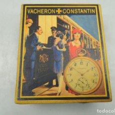 Relojes de bolsillo: IMPRESIONANTE CAJA DE RELOJ DE BOLSILLO MARCA VACHERON CONSTANTIN MUY BUEN ESTADO. Lote 112749519