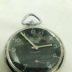 Relojes de bolsillo: RELOJ DE BOLSILLO DE CUERDA MARCA KIENZLE (ALEMANIA). Lote 112856207