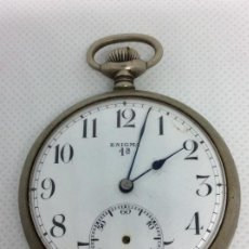 Relojes de bolsillo: ANTIGUO RELOJ DE BOLSILLO ENIGMA . NO FUNCIONA. Lote 113005715