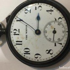Relojes de bolsillo: RELOJ DE BOLSILLO THE WATCH MUY ANTIGUA CAJA DE ACERO. Lote 113013459