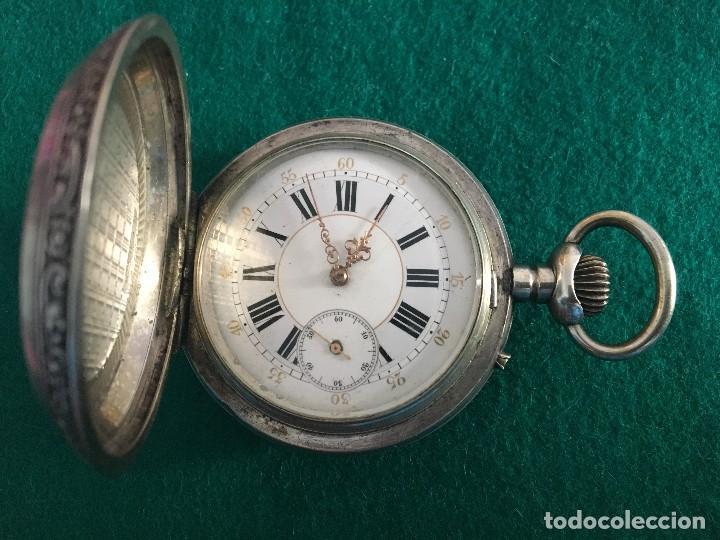 RELOJ DE BOLSILLO PLATA 57MM SUIZO (Relojes - Bolsillo Carga Manual)