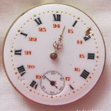Relojes de bolsillo: MAQUINA Y ESFERA RELOJ DE BOLSILLO ANTIGUO. Lote 113437903