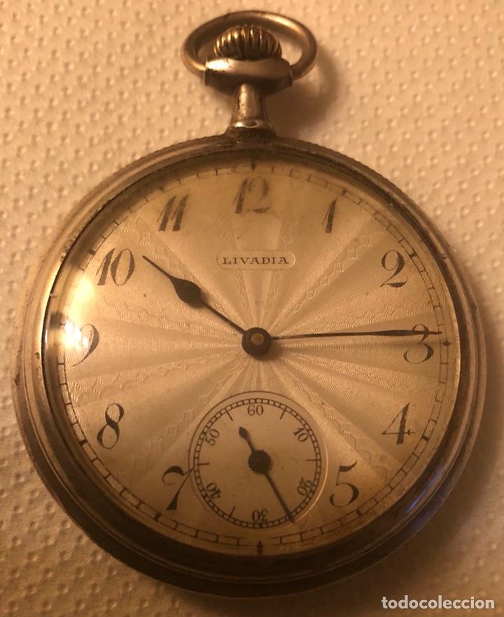 BONITO RELOJ DE PLATA DE BOLSILLO (Relojes - Bolsillo Carga Manual)