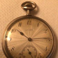 Relojes de bolsillo: BONITO RELOJ DE PLATA DE BOLSILLO. Lote 113522719