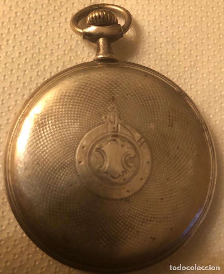 Relojes de bolsillo: Bonito reloj de plata de bolsillo - Foto 2 - 113522719