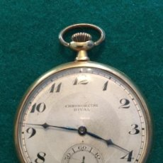 Relojes de bolsillo: RELOJ DE BOLSILLO DE ORO LUC (LOUIS ULYSSE CHOPARD). Lote 146384168
