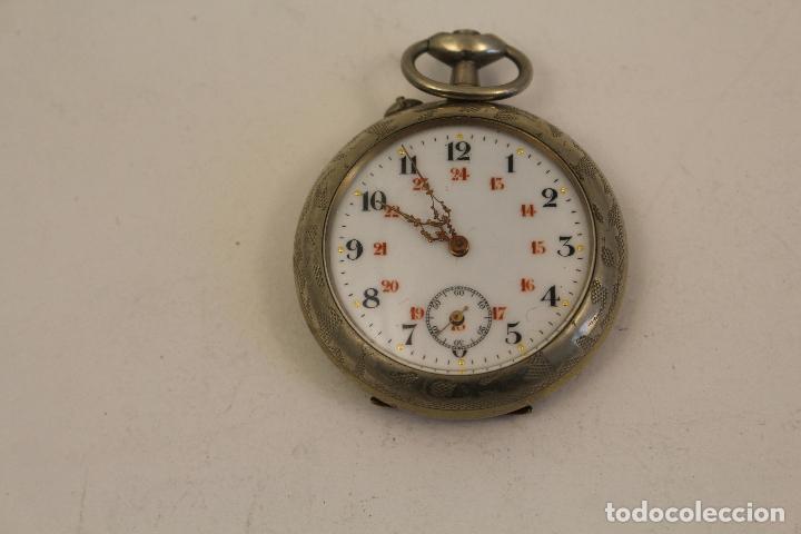 RELOJ DE BOLSILLO EN PLATA DE LEY ARGENTAM (Relojes - Bolsillo Carga Manual)