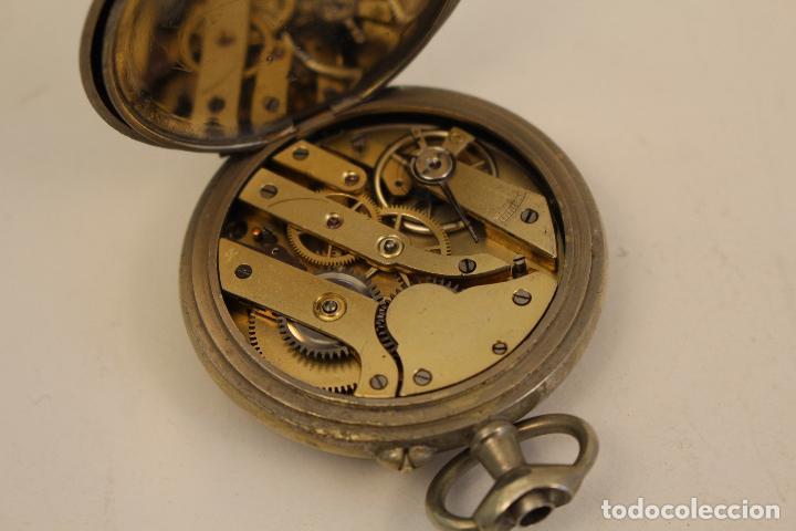 Relojes de bolsillo: reloj de bolsillo en plata de ley argentam - Foto 4 - 114132339