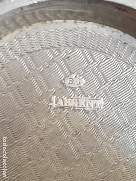 Relojes de bolsillo: Reloj de bolsillo plata 57mm suizo - Foto 9 - 182146202