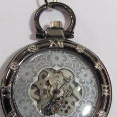 Relojes de bolsillo: RELOJ DE BOLSILLO DE CARGA MANUAL. Lote 114626211