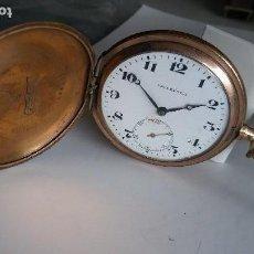 Relojes de bolsillo: RELOJ DE BOLSILLO VALFRENCA PLAQUE ORO. Lote 114687367