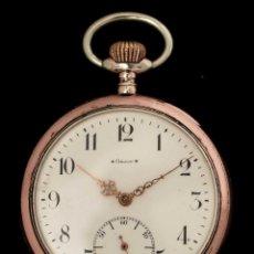 Relojes de bolsillo: ANTIGUO RELOJ DE BOLSILLO, DE ORIGEN SUIZO, DE LA MARCA ORION.. Lote 114691259