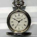 Relojes de bolsillo: CRISTY DE BOLSILLO MECANICO DE CUERDA MANUAL. Lote 114835567