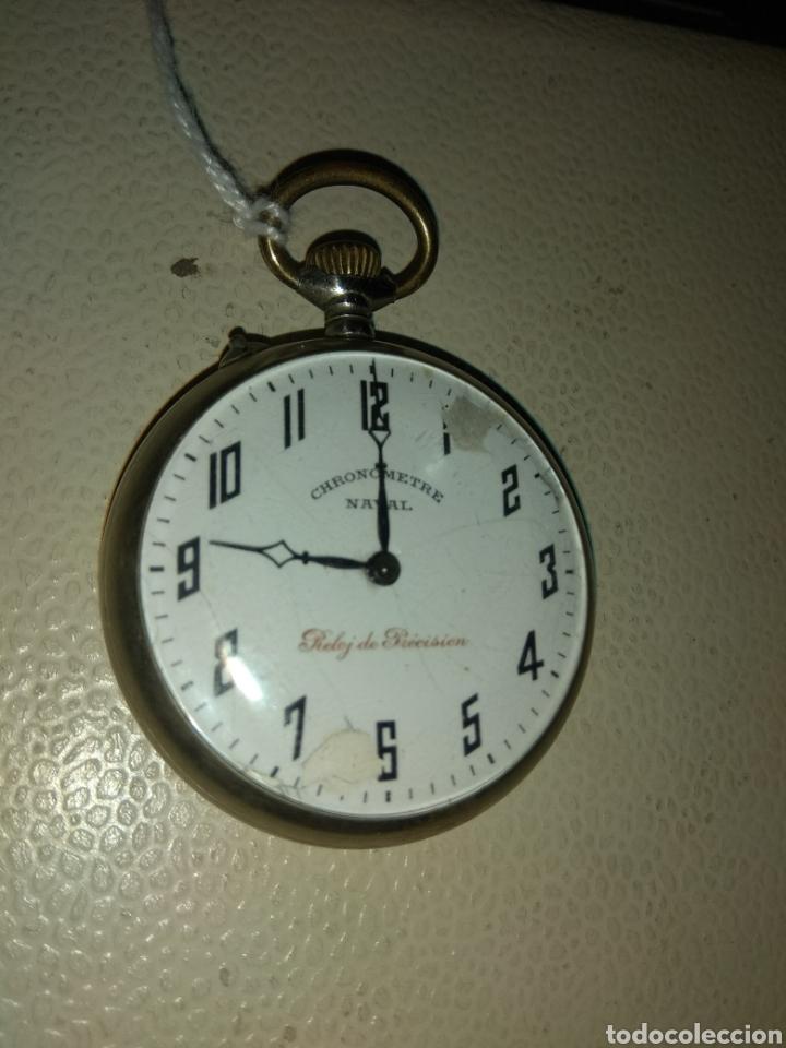 RELOJ BOLSILLO CHRONOMETRE NAVAL - RELOJ DE PRECISIÓN (Relojes - Bolsillo Carga Manual)