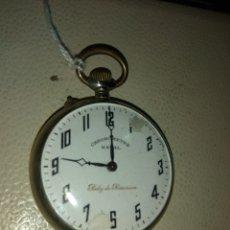 Relojes de bolsillo: RELOJ BOLSILLO CHRONOMETRE NAVAL - RELOJ DE PRECISIÓN. Lote 115112874