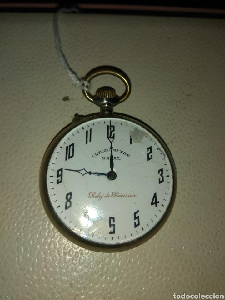 Relojes de bolsillo: Reloj Bolsillo Chronometre Naval - Reloj de Precisión - Foto 2 - 115112874