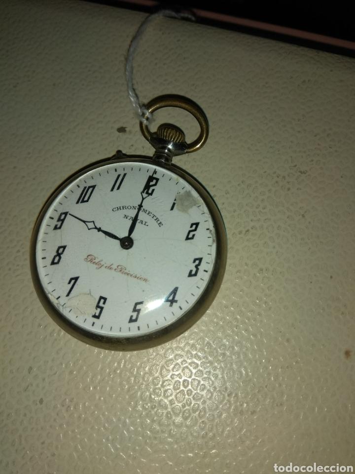 Relojes de bolsillo: Reloj Bolsillo Chronometre Naval - Reloj de Precisión - Foto 3 - 115112874
