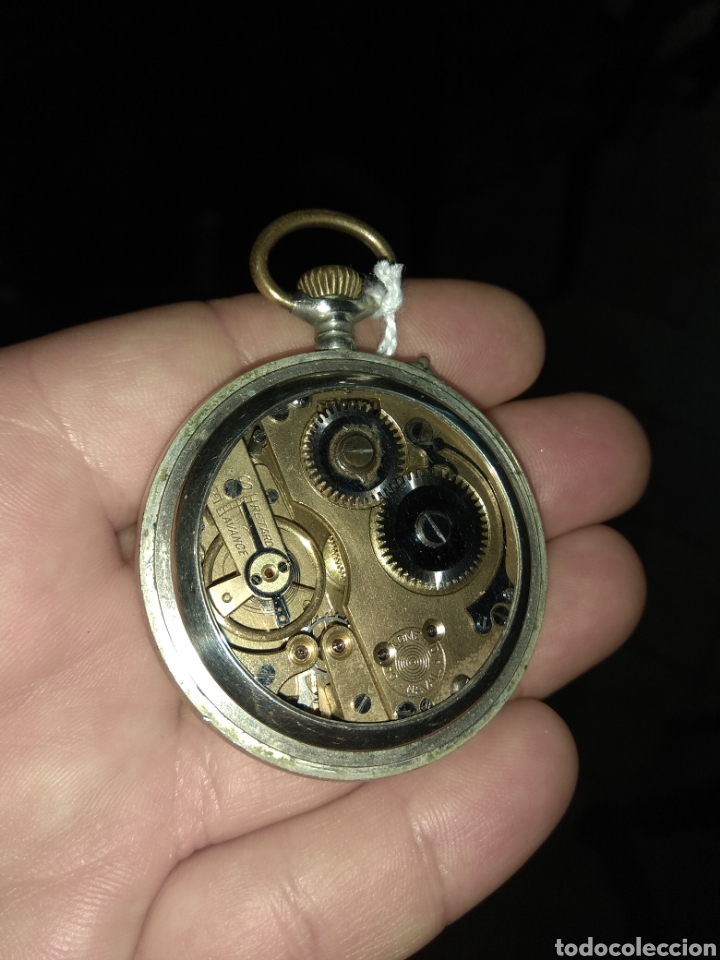 Relojes de bolsillo: Reloj Bolsillo Chronometre Naval - Reloj de Precisión - Foto 5 - 115112874