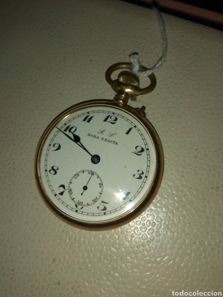 RELOJ BOLSILLO HORA EXACTA (Relojes - Bolsillo Carga Manual)