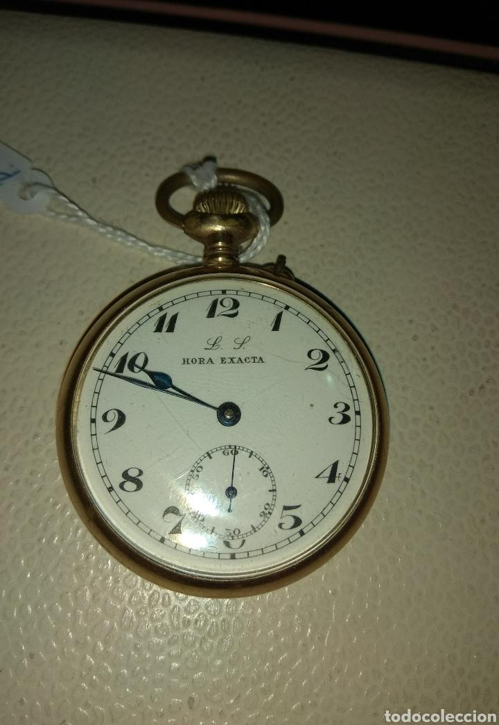 Relojes de bolsillo: Reloj Bolsillo Hora Exacta - Foto 2 - 115114304