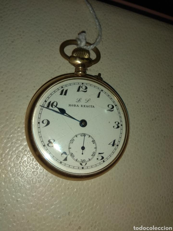 Relojes de bolsillo: Reloj Bolsillo Hora Exacta - Foto 3 - 115114304