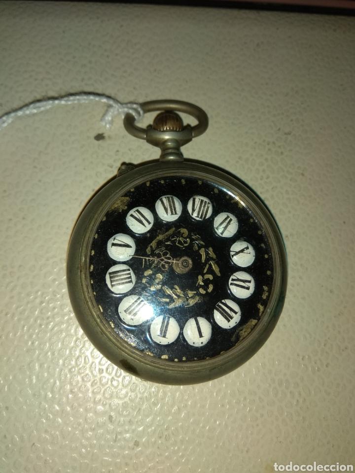 RELOJ BOLSILLO REGULADOR PATENT (Relojes - Bolsillo Carga Manual)