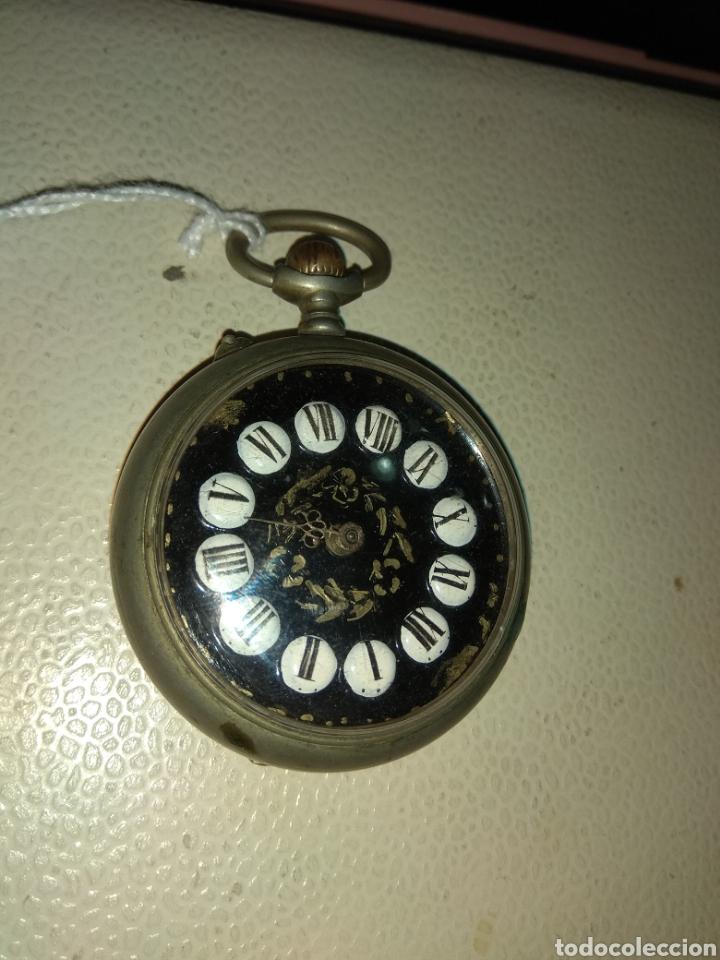 Relojes de bolsillo: Reloj Bolsillo Regulador Patent - Foto 3 - 115119943