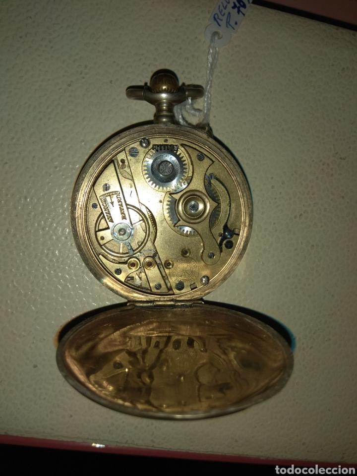 Relojes de bolsillo: Reloj Bolsillo Regulador Patent - Foto 5 - 115119943