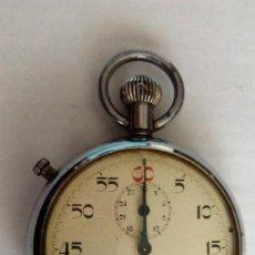 Relojes de bolsillo: CRONOMETRO SALGAR ANTIMAGNETIC, DIAMETRO 5 CM, FUNCIONA. Lote 115193035