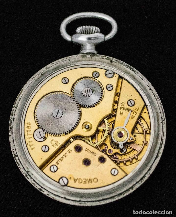 Relojes de bolsillo: ELEGANTE RELOJ DE BOLSILLO, SUIZO, DE LA MARCA OMEGA, DE CUERDA MANUAL Y FUNCIONANDO - Foto 3 - 115278855