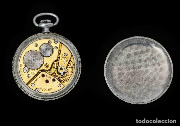 Relojes de bolsillo: ELEGANTE RELOJ DE BOLSILLO, SUIZO, DE LA MARCA OMEGA, DE CUERDA MANUAL Y FUNCIONANDO - Foto 7 - 115278855