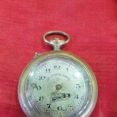 Relojes de bolsillo: ANTIGUO RELOJ BOLSILLO FERROVIARIO ROSKOPF. Lote 115355979