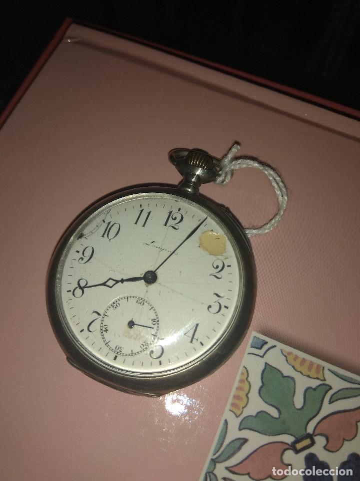 Relojes de bolsillo: Antiguo Reloj de Bolsillo Longines 6 Grands Prix - No Funciona - - Foto 2 - 115733819