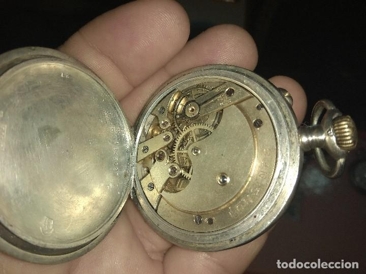 Relojes de bolsillo: Antiguo Reloj de Bolsillo Longines 6 Grands Prix - No Funciona - - Foto 9 - 115733819