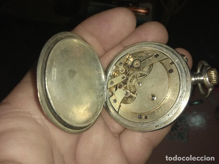 Relojes de bolsillo: Antiguo Reloj de Bolsillo Longines 6 Grands Prix - No Funciona - - Foto 10 - 115733819