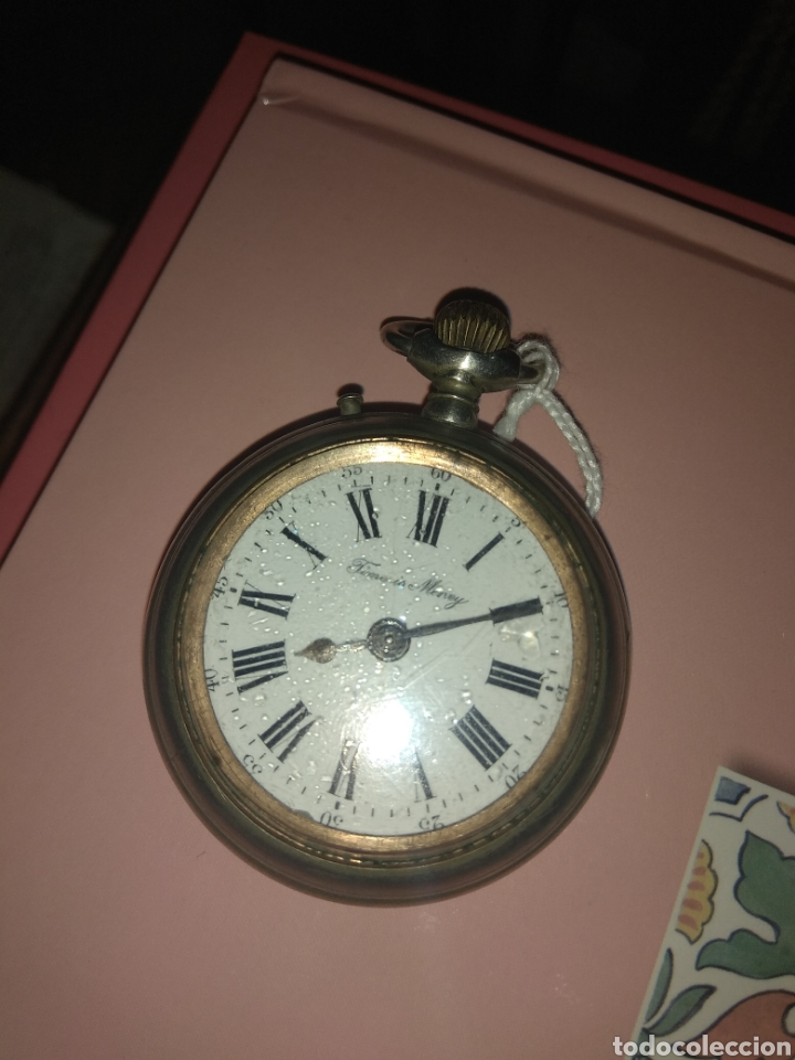 Relojes de bolsillo: Reloj Bolsillo Robert Tissot - Time is Money - No Funciona - - Foto 2 - 115734542