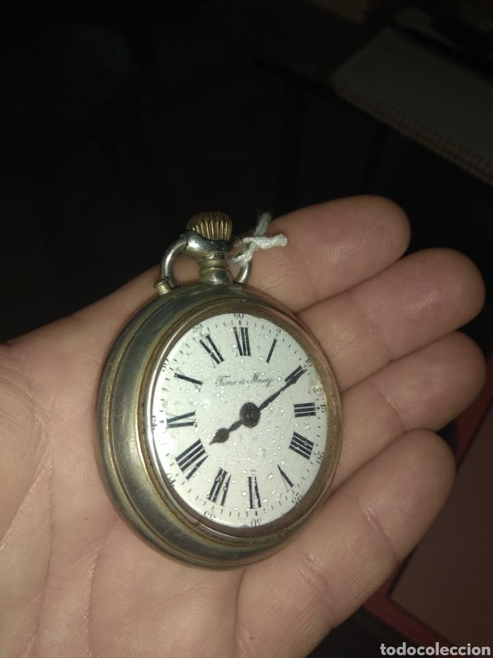 Relojes de bolsillo: Reloj Bolsillo Robert Tissot - Time is Money - No Funciona - - Foto 3 - 115734542