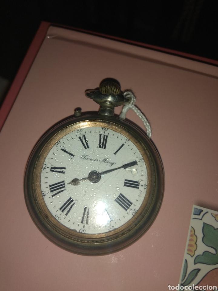 Relojes de bolsillo: Reloj Bolsillo Robert Tissot - Time is Money - No Funciona - - Foto 4 - 115734542