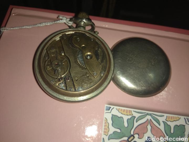 Relojes de bolsillo: Reloj Bolsillo Robert Tissot - Time is Money - No Funciona - - Foto 6 - 115734542