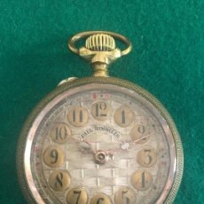 Relojes de bolsillo: RELOJ DE BOLSILLO PAUL HEMMELER 1900. Lote 115850039