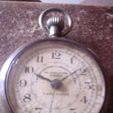 Relojes de bolsillo: RELOJ CRONOMETRO DE PRECISION AÑOS 20, MARCA AMIDA SUIZA, TIPO ROSKOPF. Lote 116181679