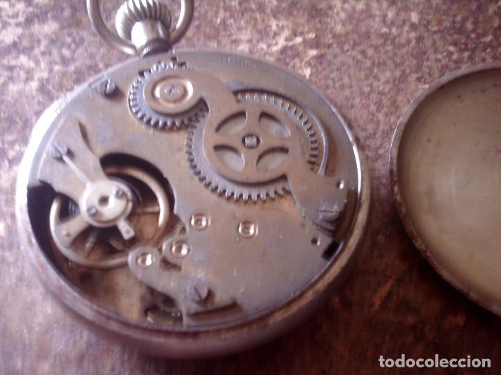 Relojes de bolsillo: RELOJ CRONOMETRO DE PRECISION AÑOS 20, MARCA AMIDA SUIZA, TIPO ROSKOPF - Foto 2 - 116181679