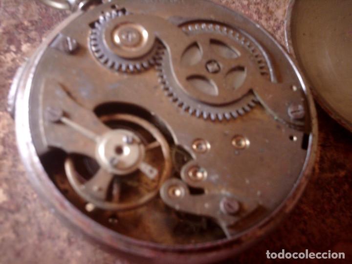 Relojes de bolsillo: RELOJ CRONOMETRO DE PRECISION AÑOS 20, MARCA AMIDA SUIZA, TIPO ROSKOPF - Foto 4 - 116181679