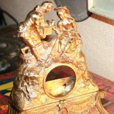 Relojes de bolsillo: RELOJERA SOPORTE PARA RELOJ DE BOLSILLO EN BRONCE FRANCES FINALES SIGLO XIX. Lote 116252767